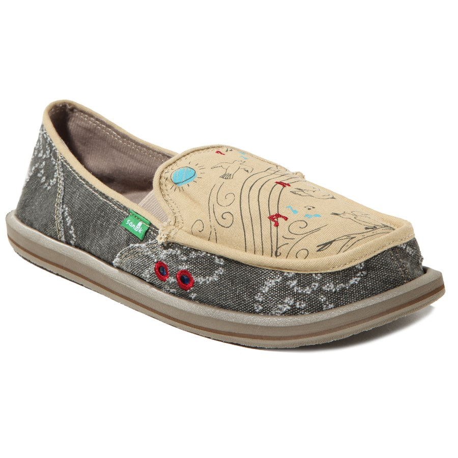 Sanuk Scribble Shoes Women S Evo Outlet