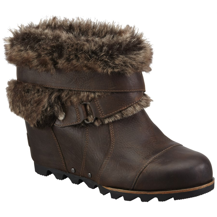 Sorel Joan Of Arctic Wedge Ankle Boots Women S Evo