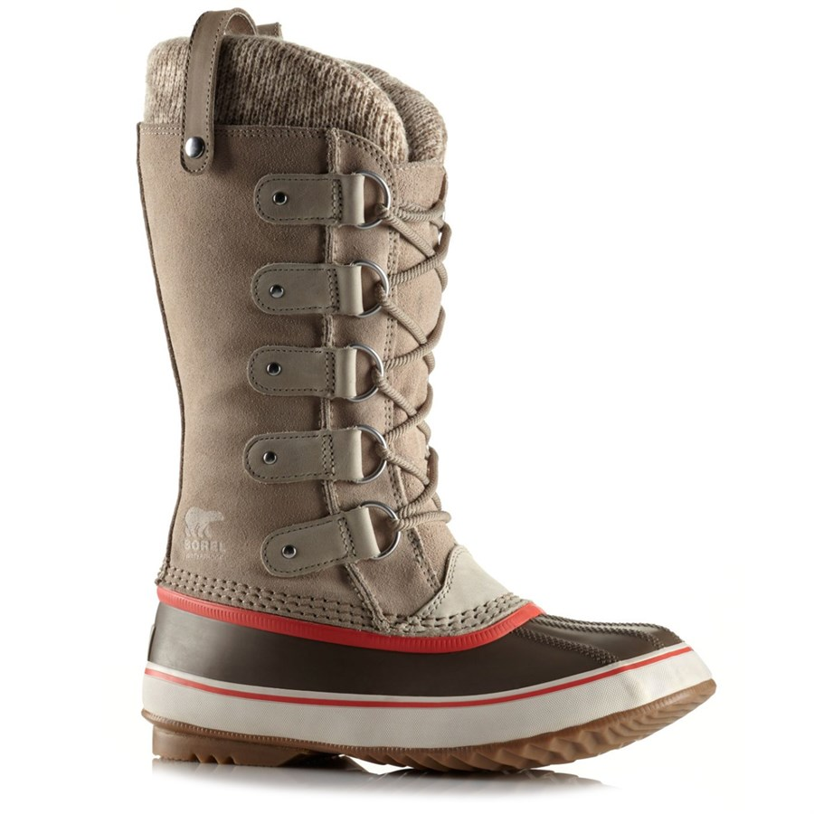 sorel joan of arctic knit boots women 39 s evo. Black Bedroom Furniture Sets. Home Design Ideas