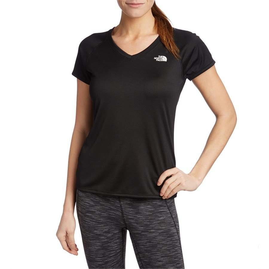 The North Face Reaxion V Neck T Shirt Women 39 S Evo Outlet