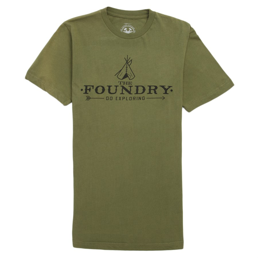 The Foundry Clothing Go Exploring T Shirt Evo Outlet