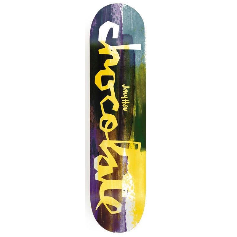 Chocolate jerry hsu hype paint 8 0 skateboard deck evo for Best paint for skateboard decks