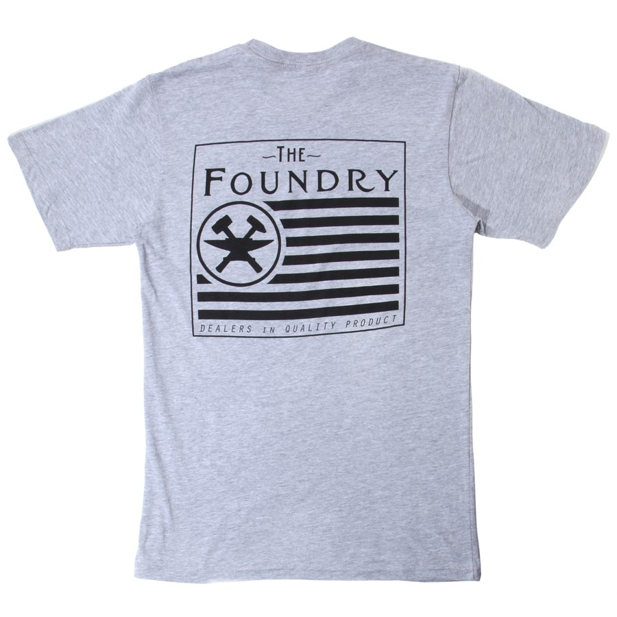 The foundry clothing dealer flag t shirt evo outlet for Foundry men s polo shirts