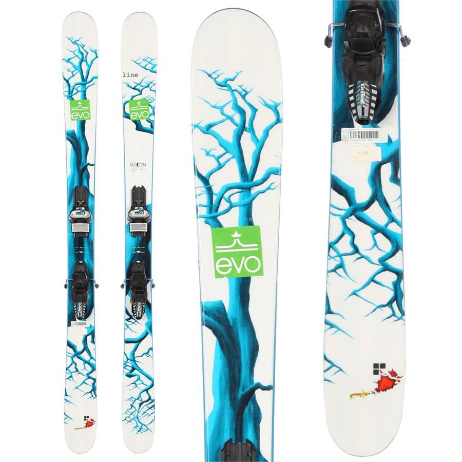 Line Skis Sir Francis Bacon Skis + Marker Griffon Demo