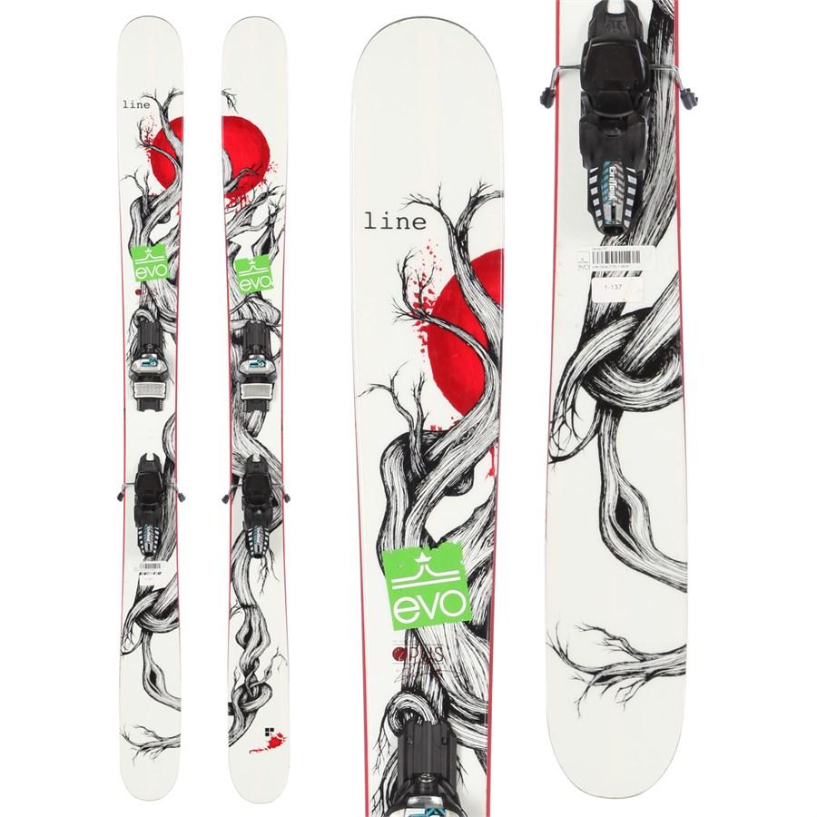 Line Skis Mr. Pollard's Opus Skis + Marker Griffon Demo