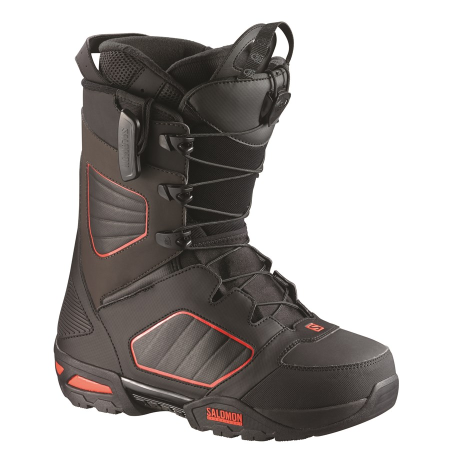 Salomon Synapse Red Black Shoes
