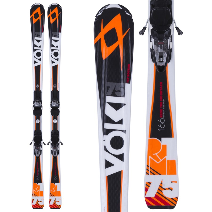 Volkl RTM 75 Skis + 4Motion 10.0 Bindings 2015