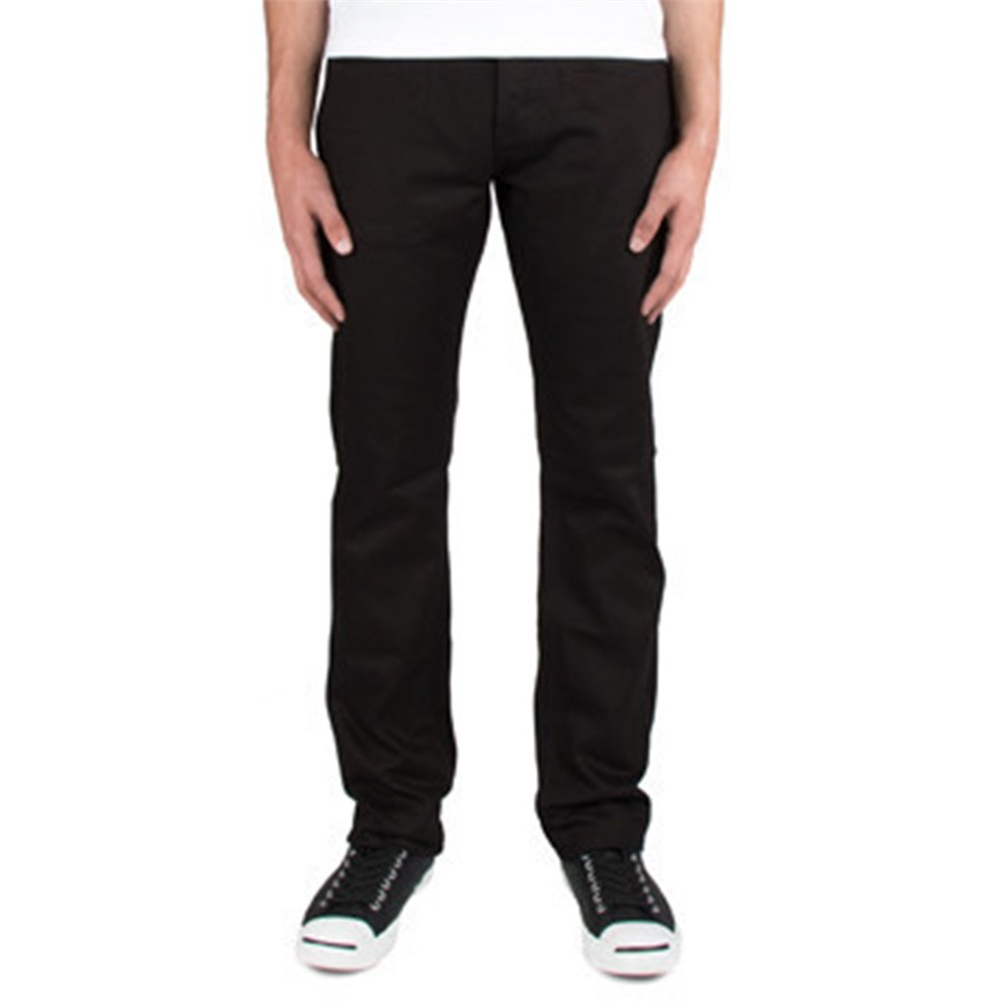 The Unbranded Brand Tapered Fit Black Selvedge Jeans