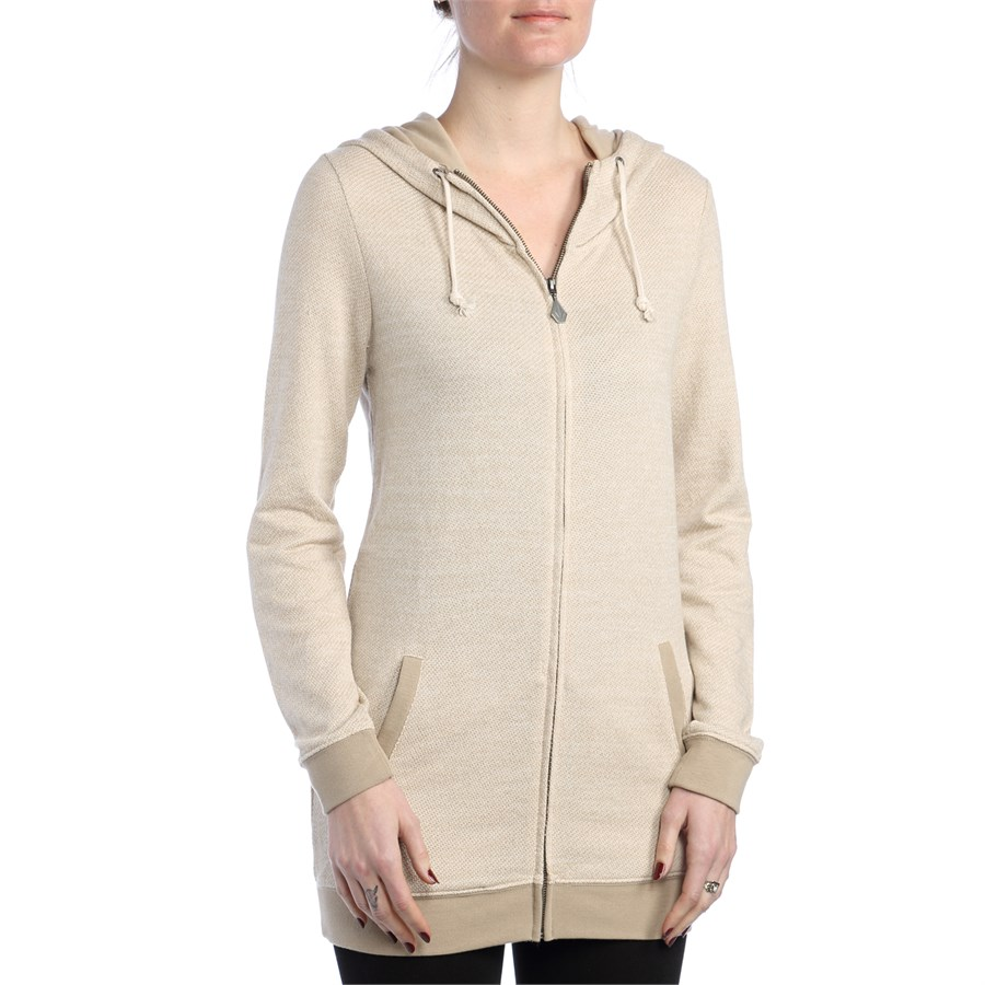 Knitting Pattern Womens Hoodie : Volcom Oh Knit Zip Up Hoodie - Womens evo outlet