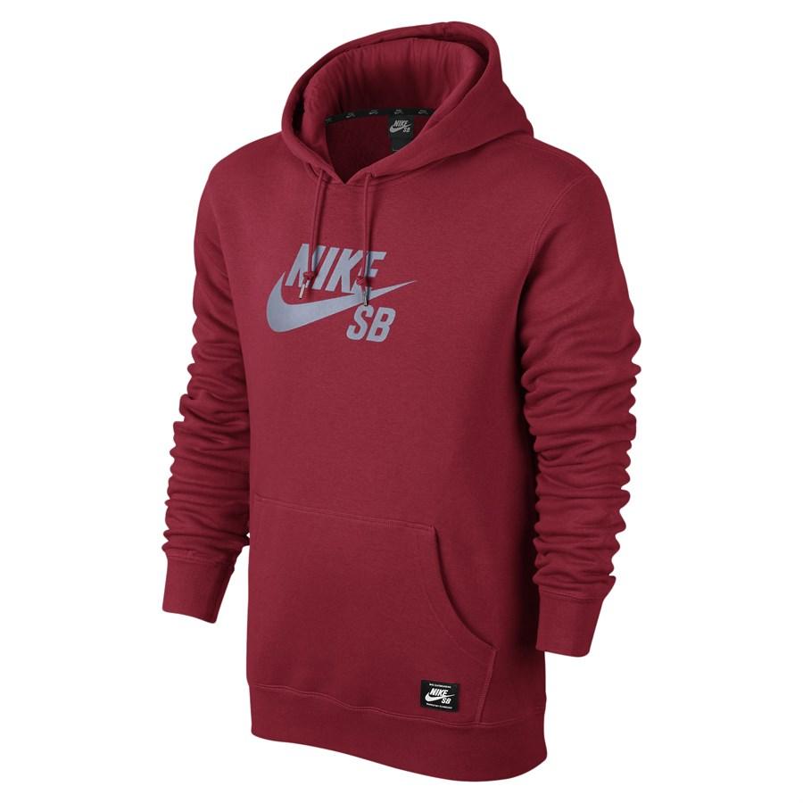 nike sb pullover reflective icon hoodie evo outlet. Black Bedroom Furniture Sets. Home Design Ideas