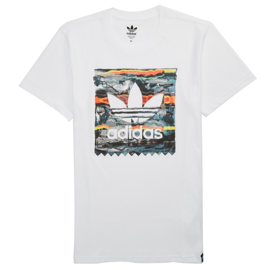 Adidas tile stamp t shirt evo outlet for Stamp t shirt printing