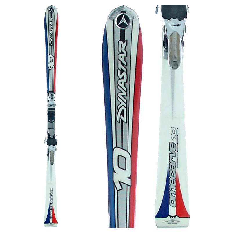 Dynastar omecarve skis bindings used evo outlet
