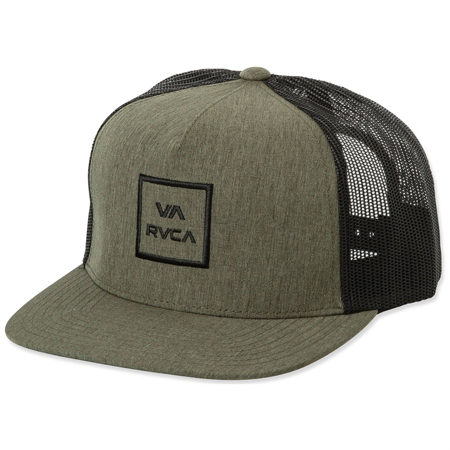 buy online 26a24 1e500 RVCA VA All The Way Trucker III Hat   evo