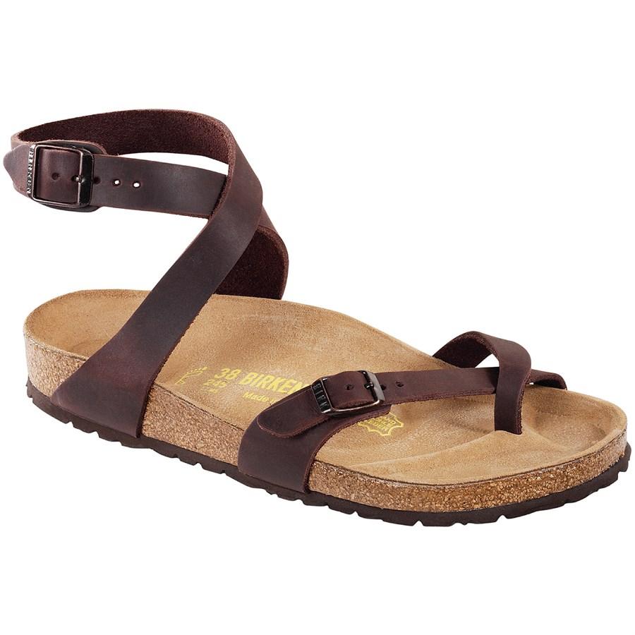 birkenstock yara oiled leather sandals women 39 s evo. Black Bedroom Furniture Sets. Home Design Ideas