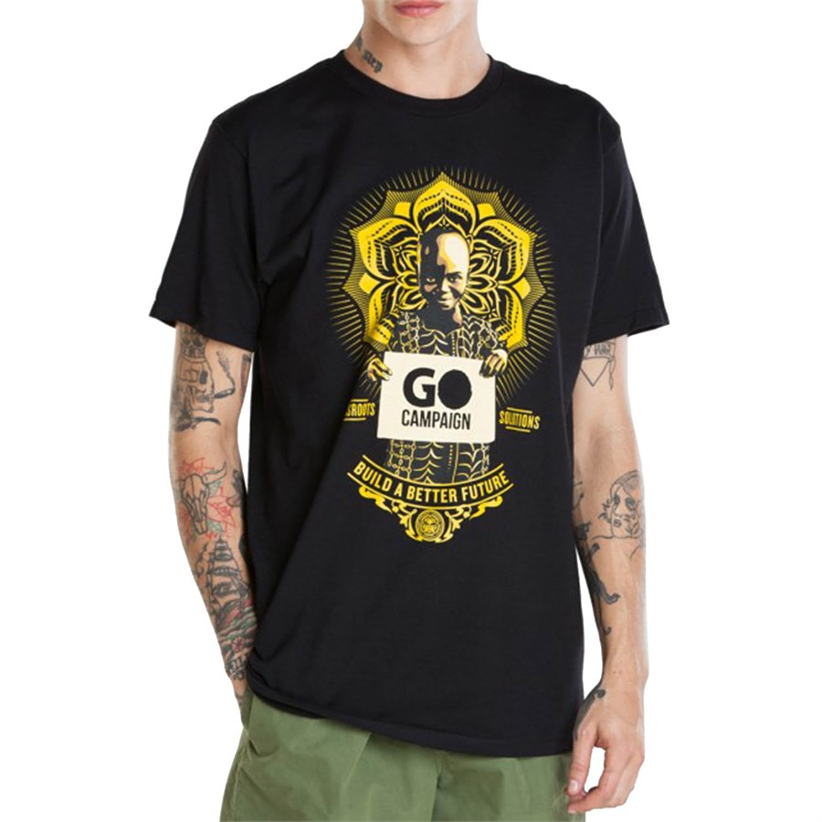 Obey Clothing Go Campaign T-Shirt | evo outlet