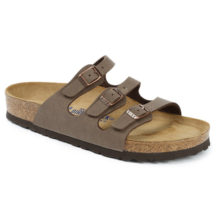 birkenstock florida birkibuc soft footbed sandals women