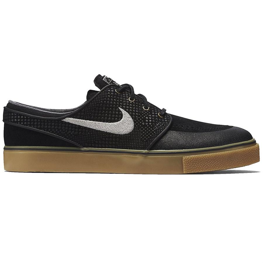 Nike Sb Zoom Stefan Janoski Leather Mens Shoes Brown