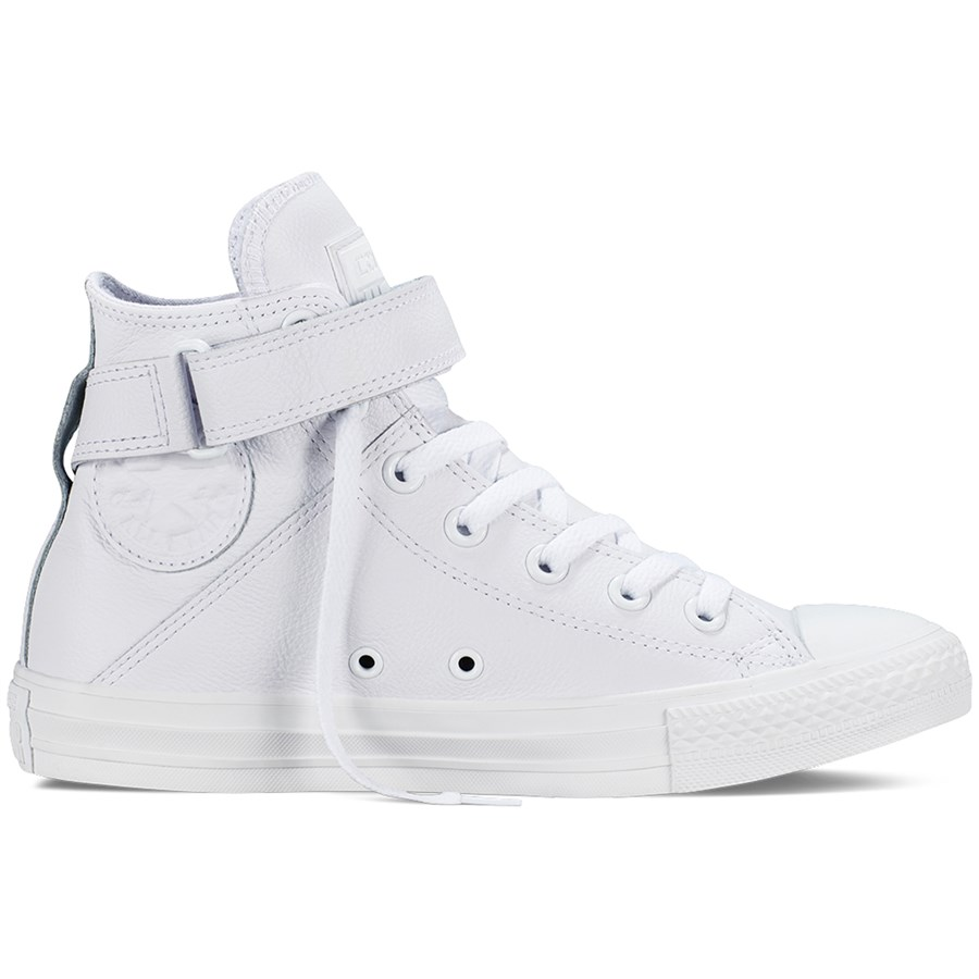 Womens White High Top Converse Shoes