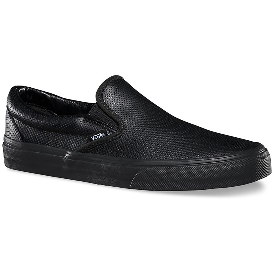 Slip On Skate Shoes Black