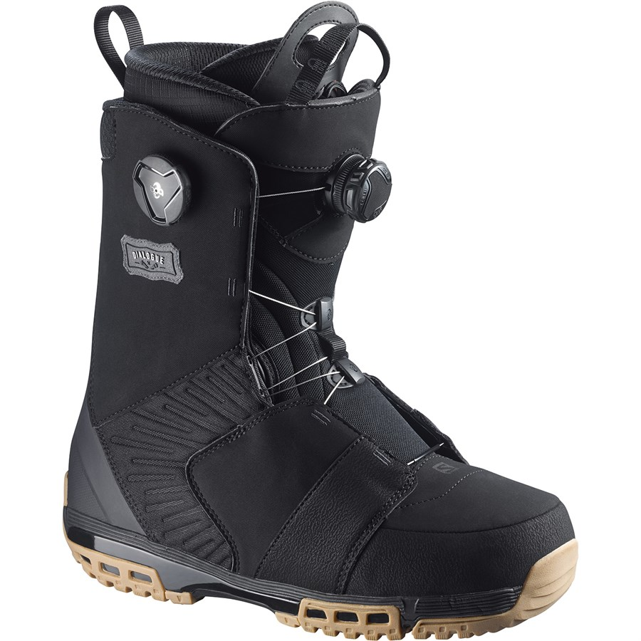 salomon dialogue focus boa snowboard boots 2016 evo. Black Bedroom Furniture Sets. Home Design Ideas