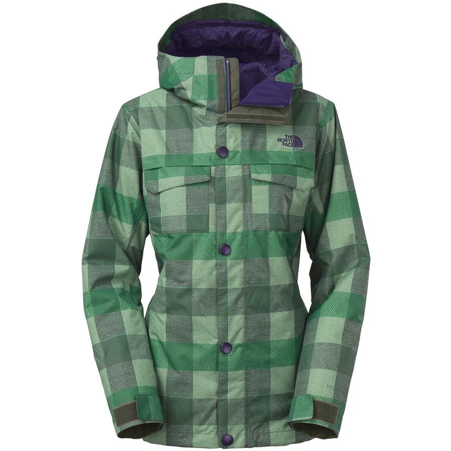 Womens plaid ski jacket