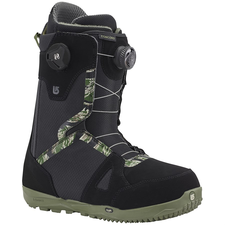 burton concord boa snowboard boots 2016 evo