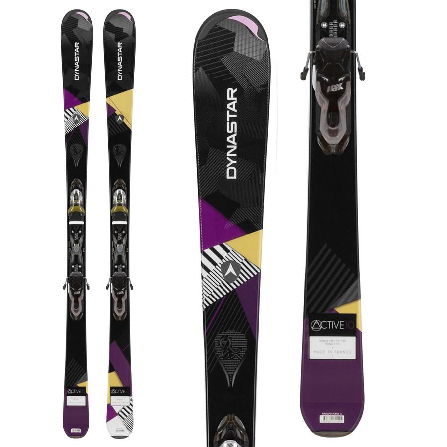 Dynastar Active 10 Skis + Xpress 11 Bindings