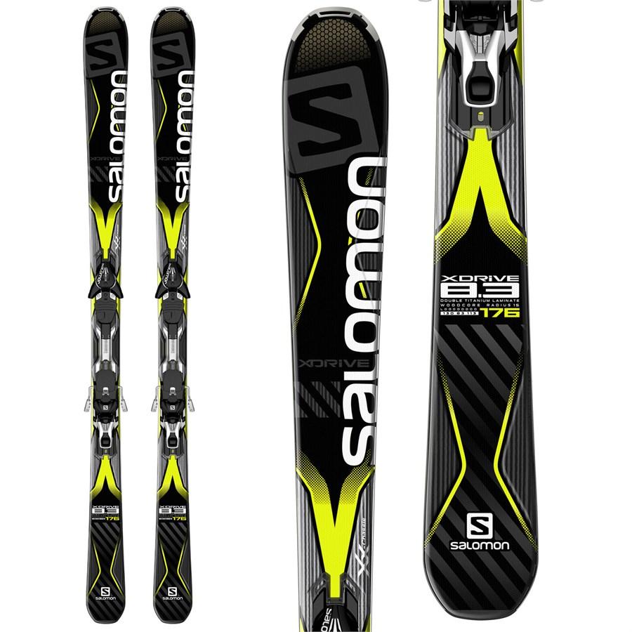 Salomon X-Drive 8.3 Skis + XT12 Bindings 2016