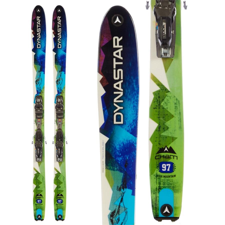 Dynastar Cham 97 High Mountain Skis + PX 12 Demo Bindings