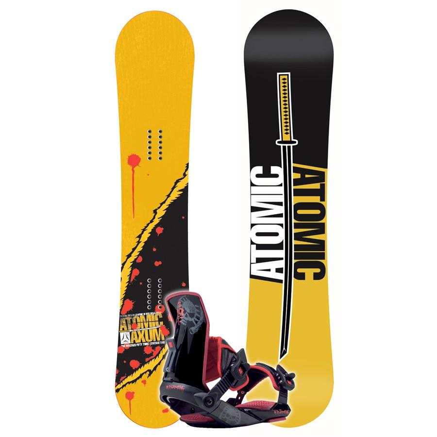 Atomic Axum Ltd Snowboard + Zombie Binding 2007