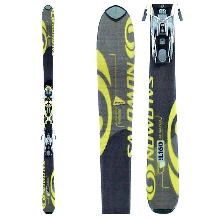 Salomon Verse 10 Pilot Skis + Bindings - Used 2004