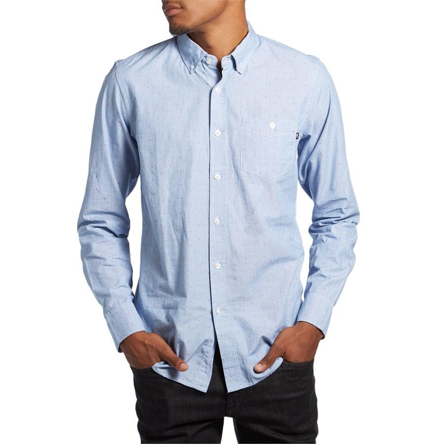 e8cf0ceccf16 Obey Clothing Arden Long-Sleeve Button-Down Shirt