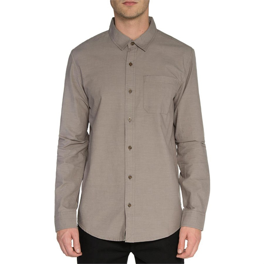 Tavik maison long sleeve button down shirt evo outlet for Custom pattern button down shirts