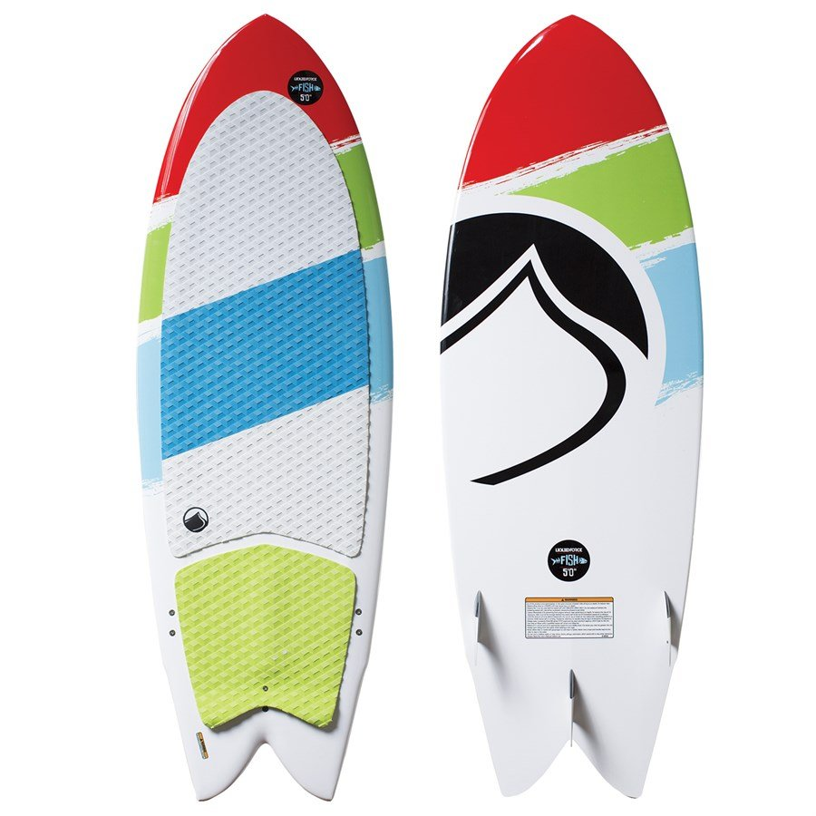 Liquid force fish wakesurf board 2016 evo outlet for Liquid force fish