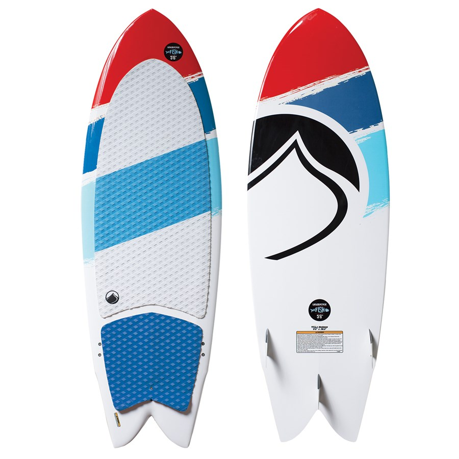 Liquid force fish wakesurf board 2016 evo for Liquid force fish