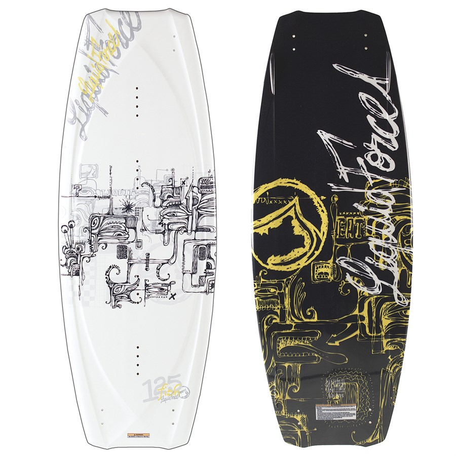 liquid force fish wakeboard 2007 evo outlet