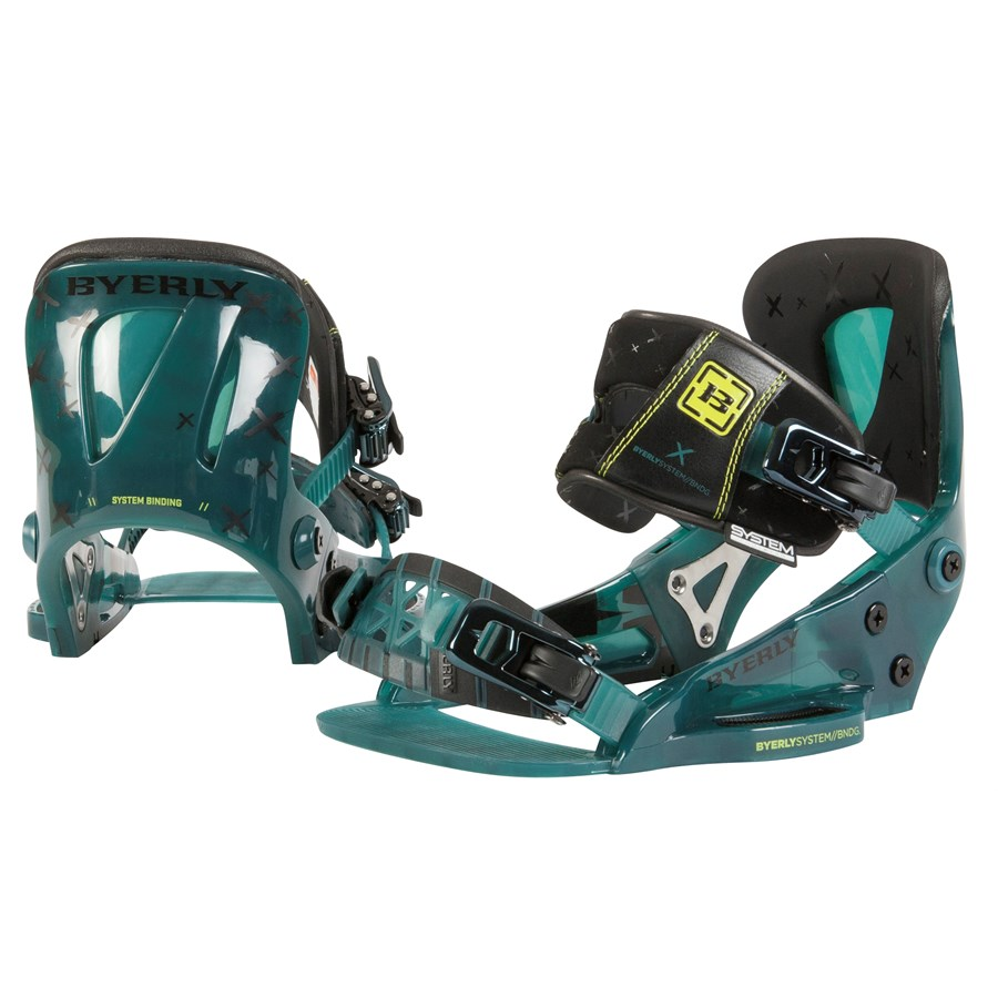 Byerly Wakeboards System Wakeboard Bindings 2016