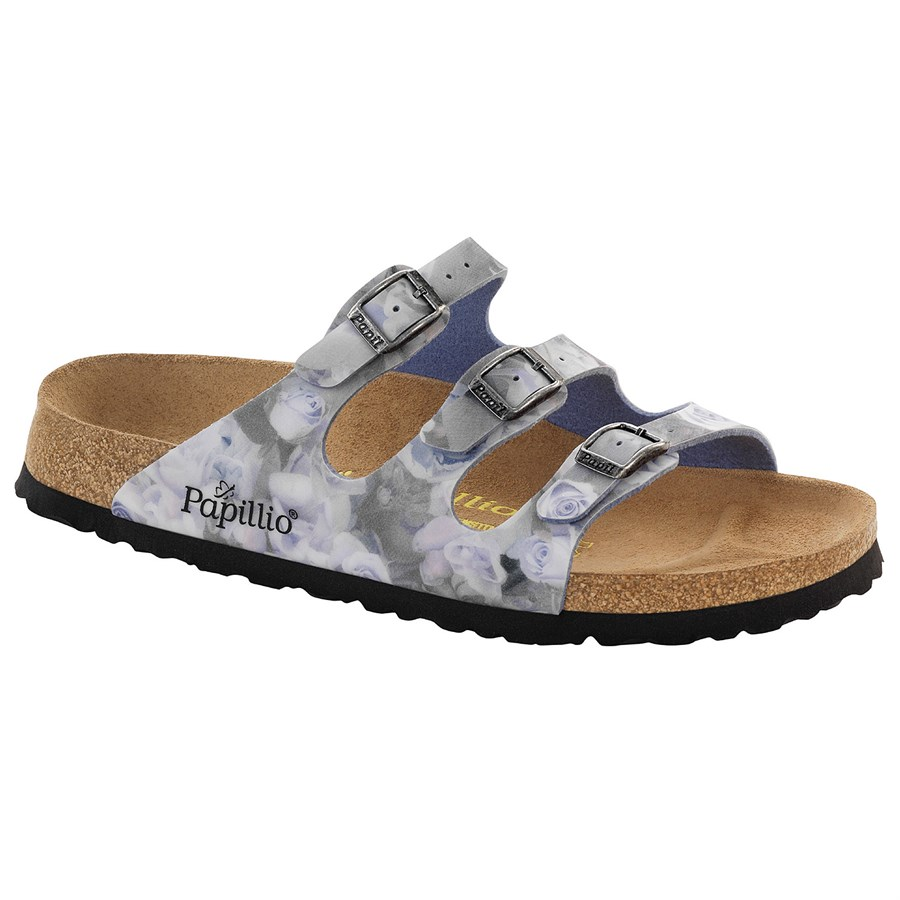 birkenstock florida papillio birko flor sandals women 39 s evo outlet. Black Bedroom Furniture Sets. Home Design Ideas