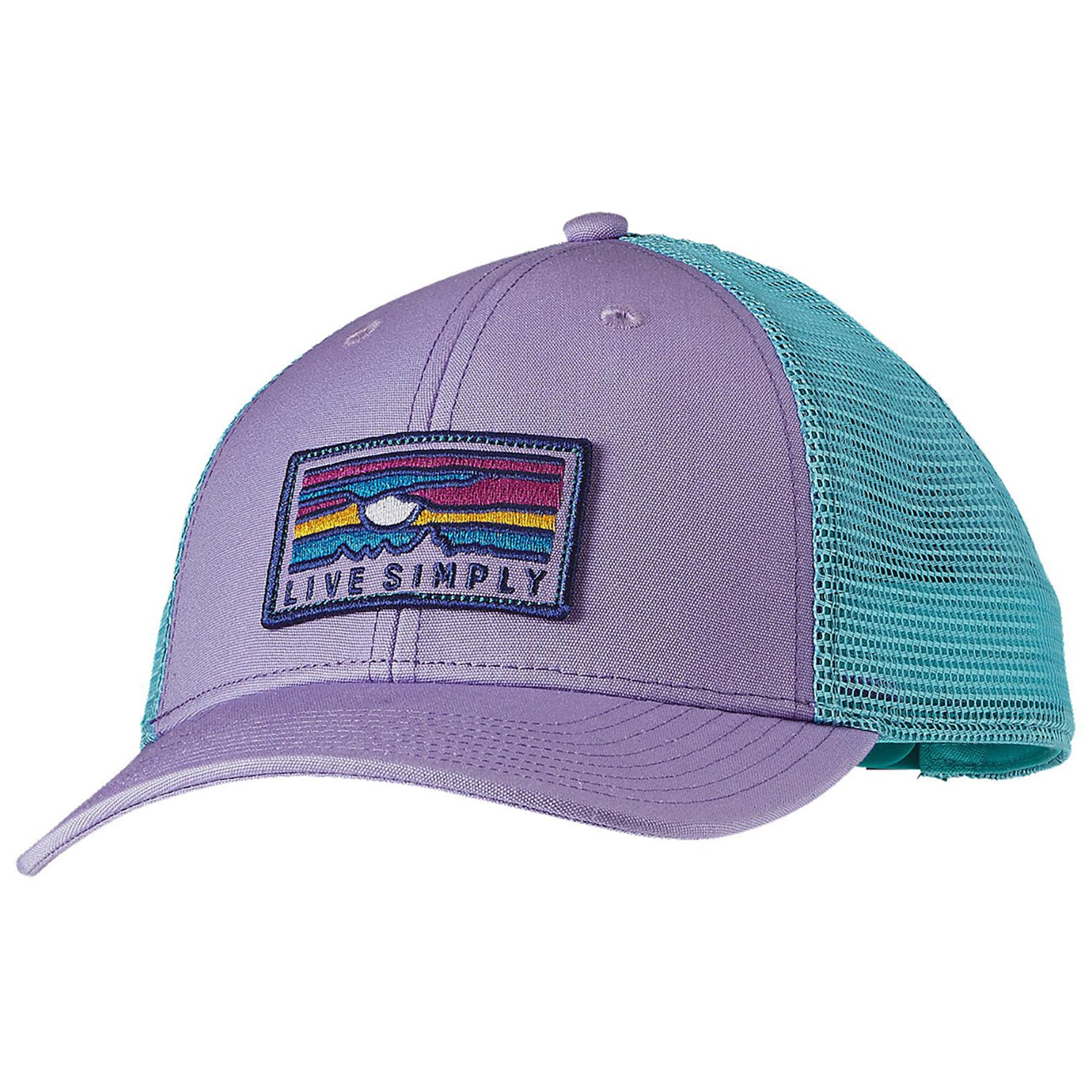 Patagonia Live Simply Sunset Trucker Hat  0e75bc92773d