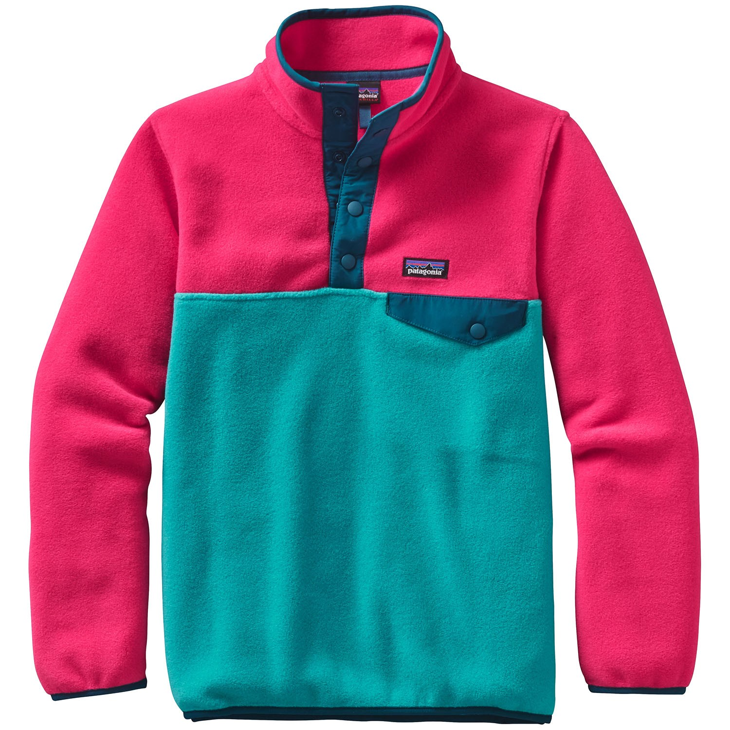 Patagonia Lightweight Synchilla Snap-T Pullover Fleece - Girls' | evo