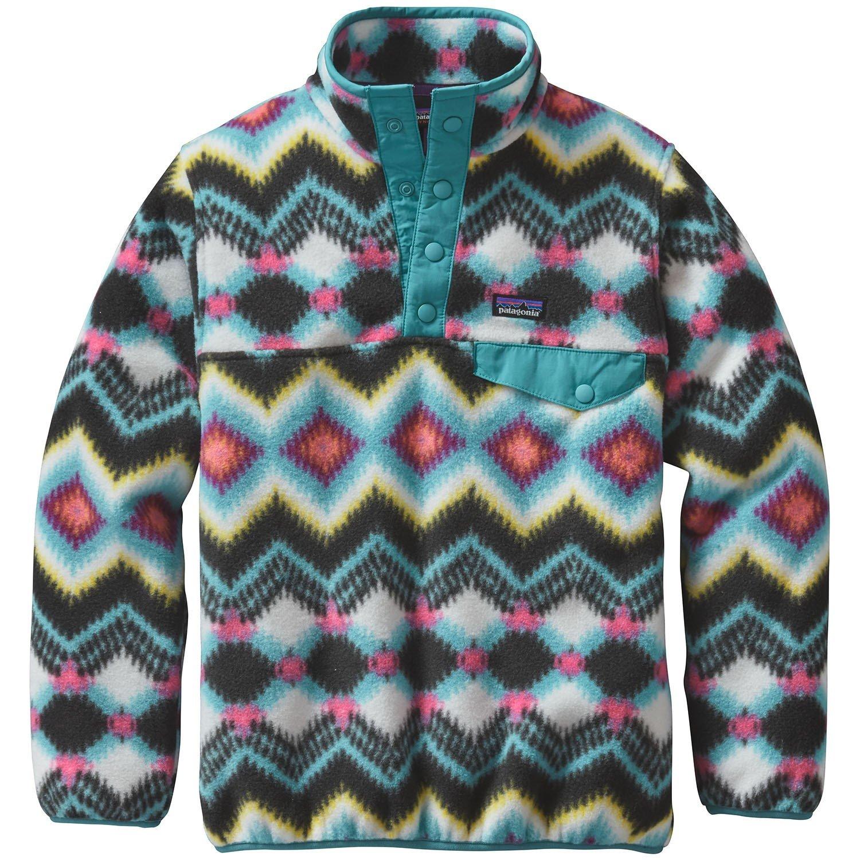 Patagonia Lightweight Synchilla Snap-T Pullover Fleece - Girls' | evo