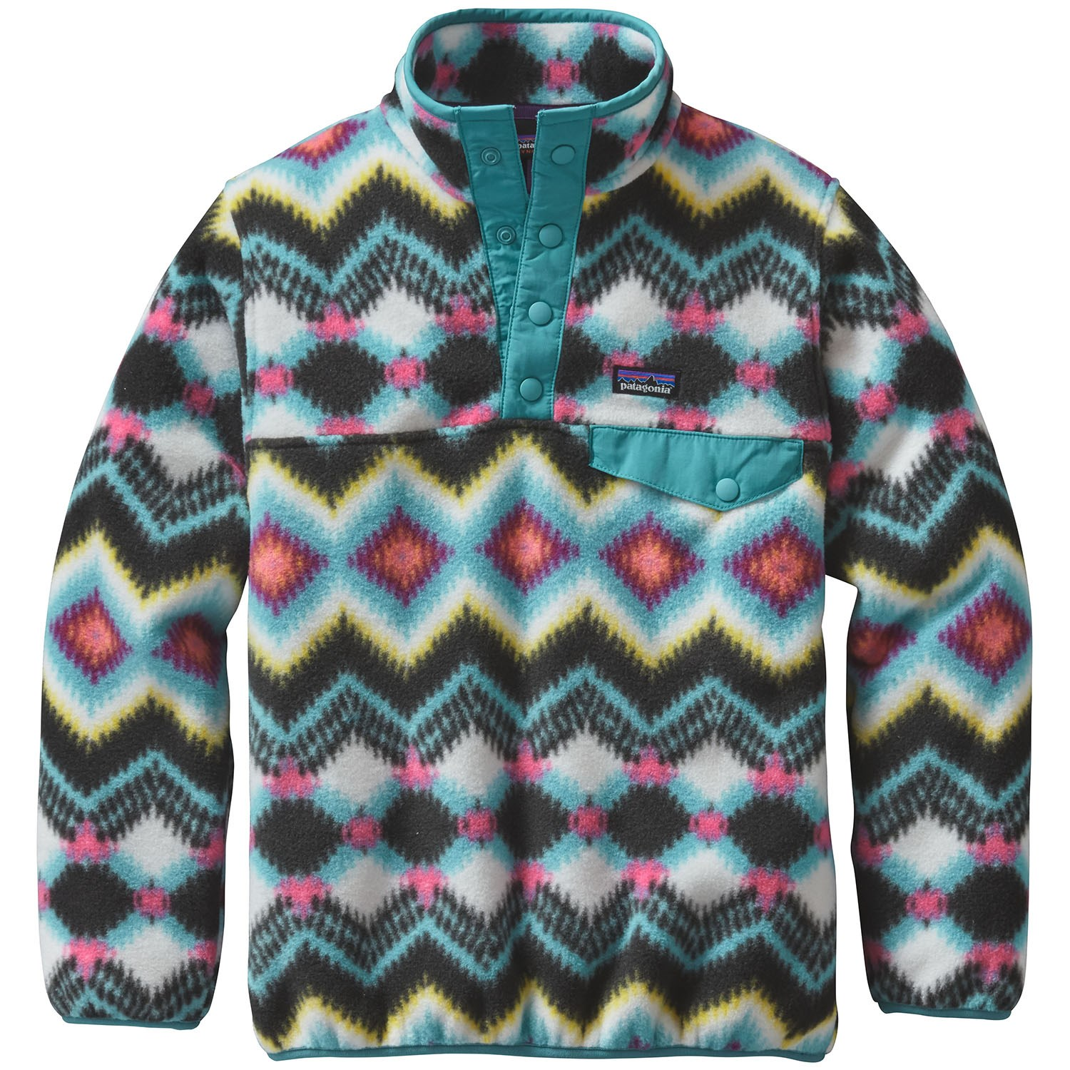 8f2459981 Patagonia Lightweight Synchilla Snap-T Pullover Fleece - Girls'