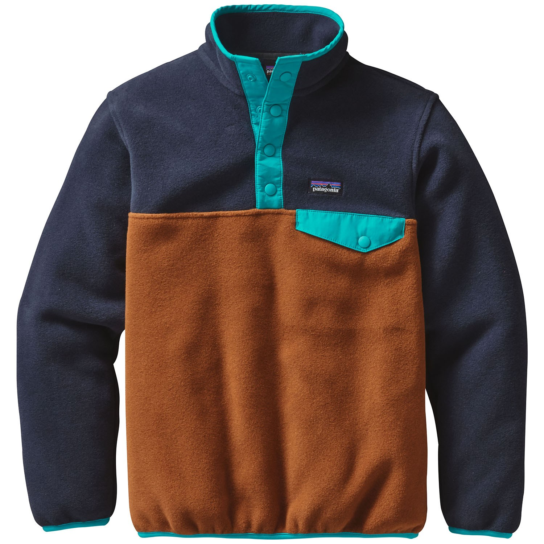 Patagonia Lightweight Synchilla Snap-T Pullover Fleece - Boys   569b0b8f7