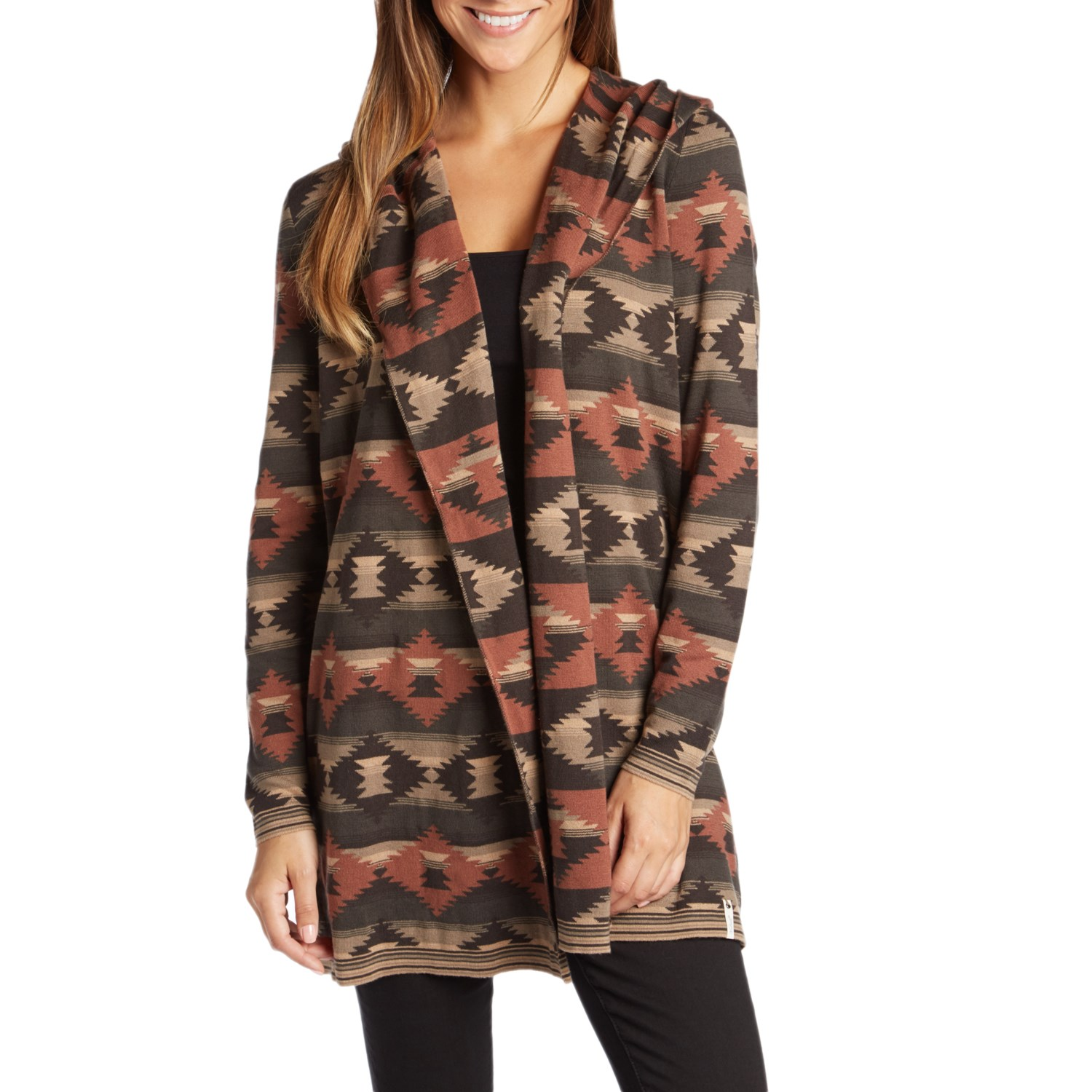Woolrich Dew Berry Hooded Fairisle Cardigan II - Women's | evo