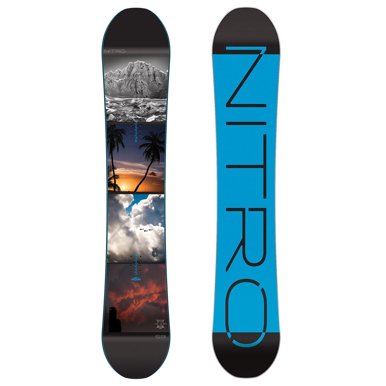 Nitro Team Exposure Snowboard 2016  f668c47daef5