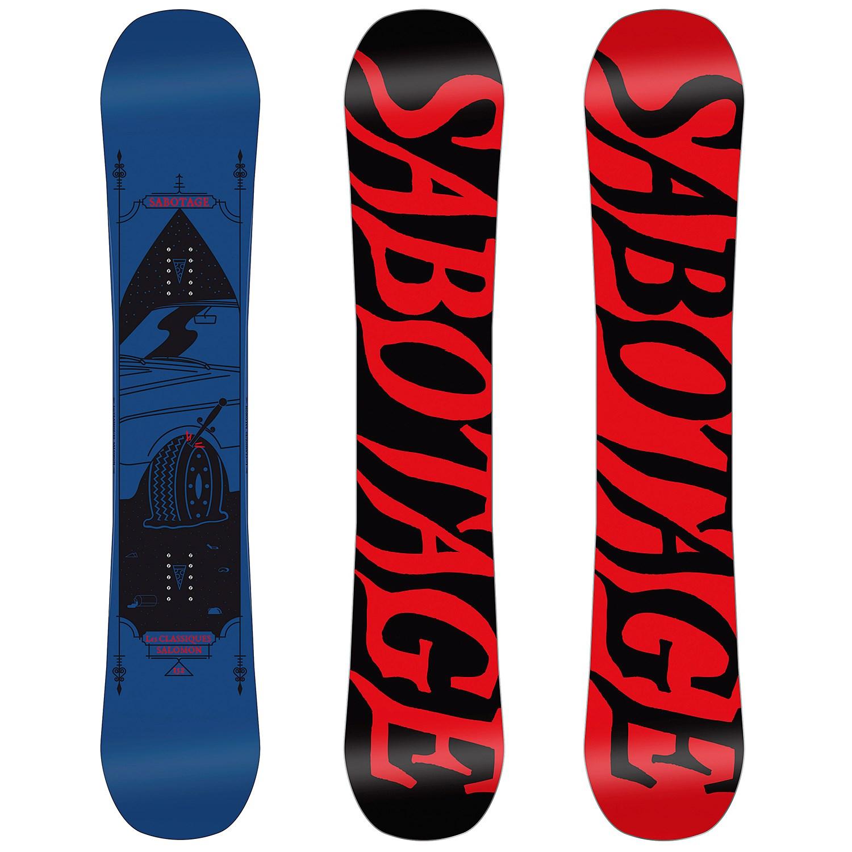 1489cee4863c Salomon Sabotage Classicks Snowboard 2016