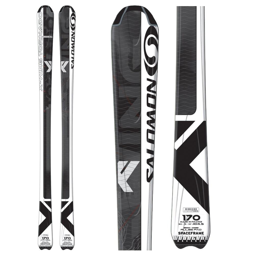 Salomon X Wing Tornado All Mountain Skis with Salomon Z12