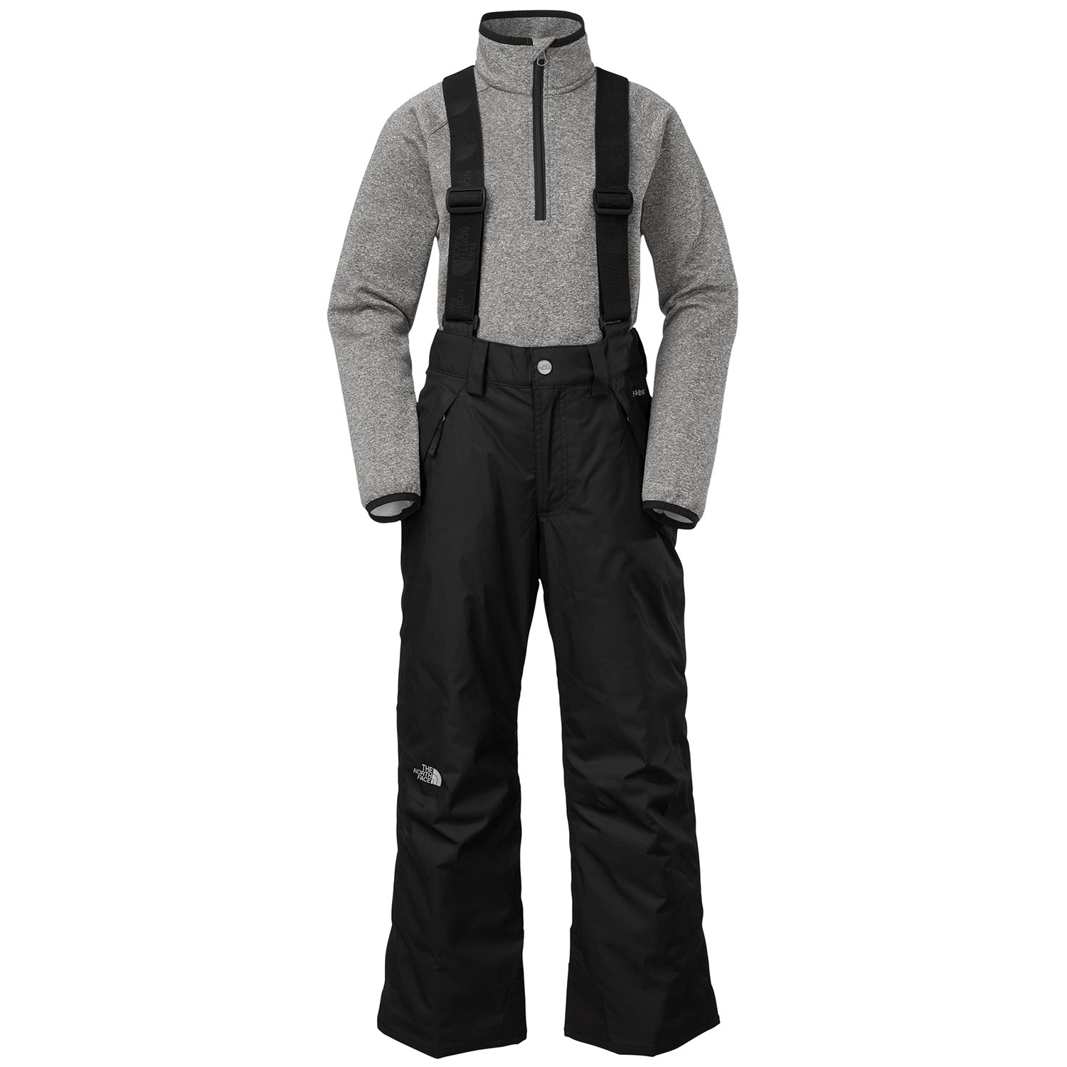 1ca99a9ee The North Face Snowquest Suspender Pants - Boys' | evo