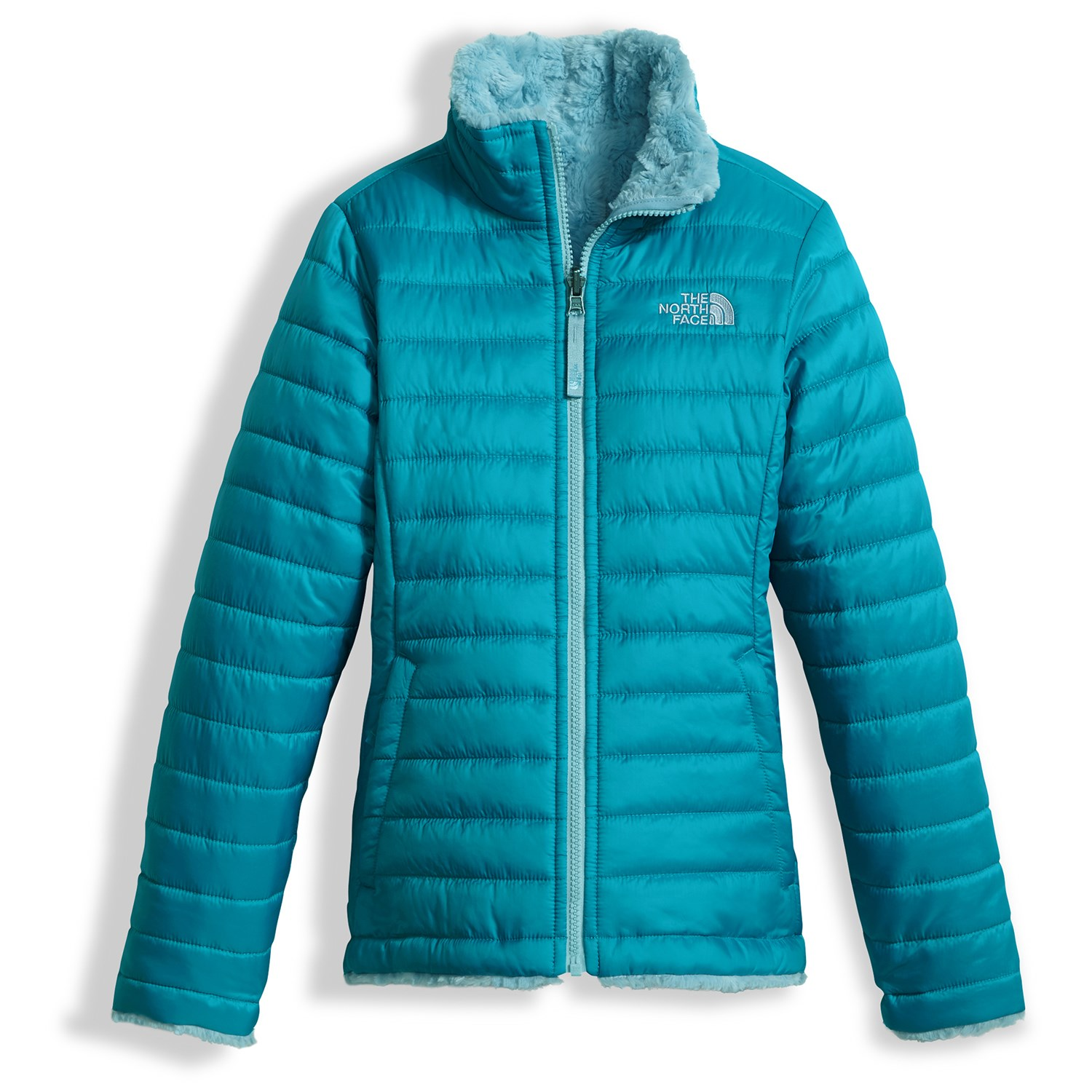 6f735ee0f The North Face Reversible Mossbud Swirl Jacket - Girls'