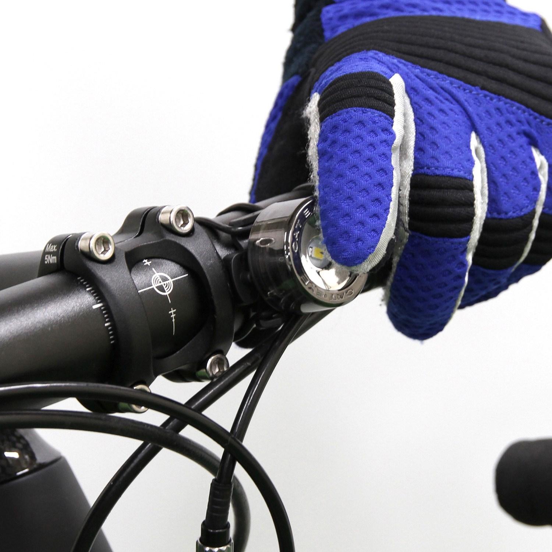 nima bike evo black bicycle light outlet detail front cateye chrome lights